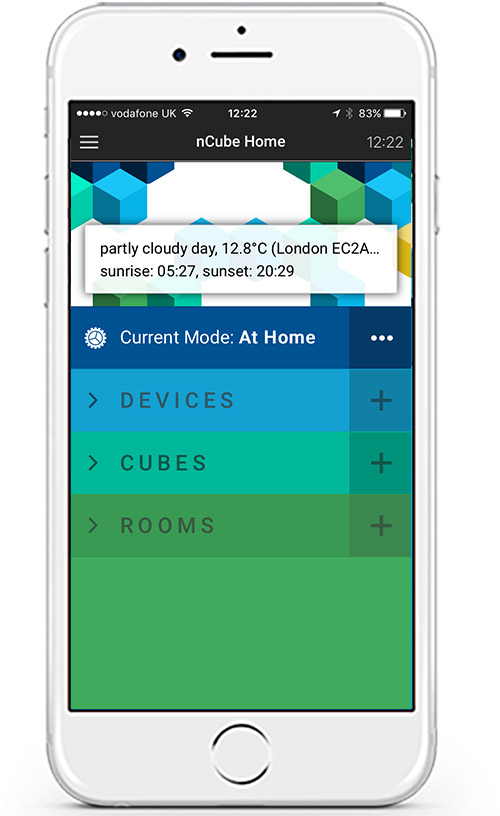 The smart home app