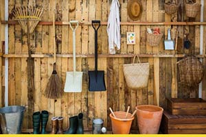 How to organise your garage and shed